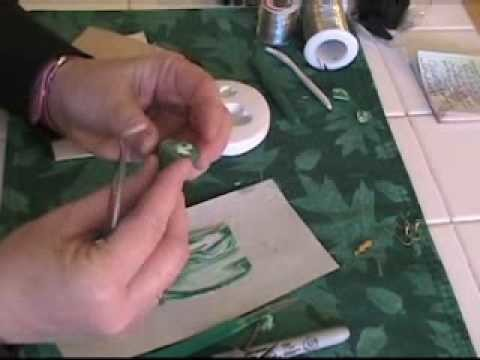 Polymer Clay Jewelry Making Techniques - Clay Backing