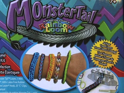 RAINBOW LOOM MONSTER TAIL GIVEAWAY