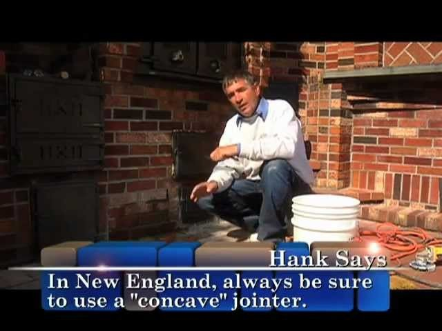 Repointing Mortar Joints - Outdoor How To From Home Work With Hank