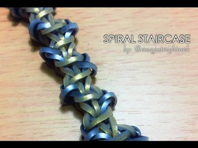 SPIRAL STAIRCASE Hook Only bracelet tutorial