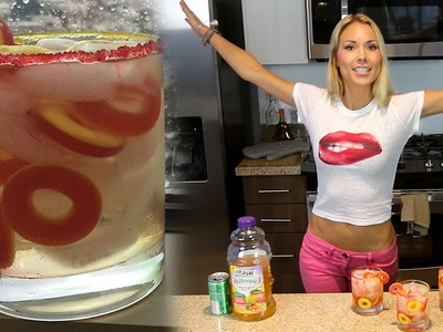 The Peach Princess Cocktail - Tipsy Bartender