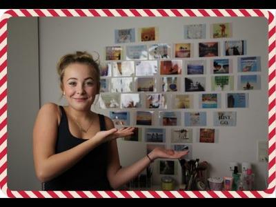 ♡ 4. December.12 Days of Christmas - DIY Hjertevæg! ♡