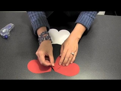 90-second Heart Card tutorial