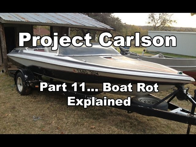 An Education in Boat Rot, and how it is almost never easy to fix