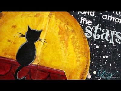 Art Journal : Shoot for the moon