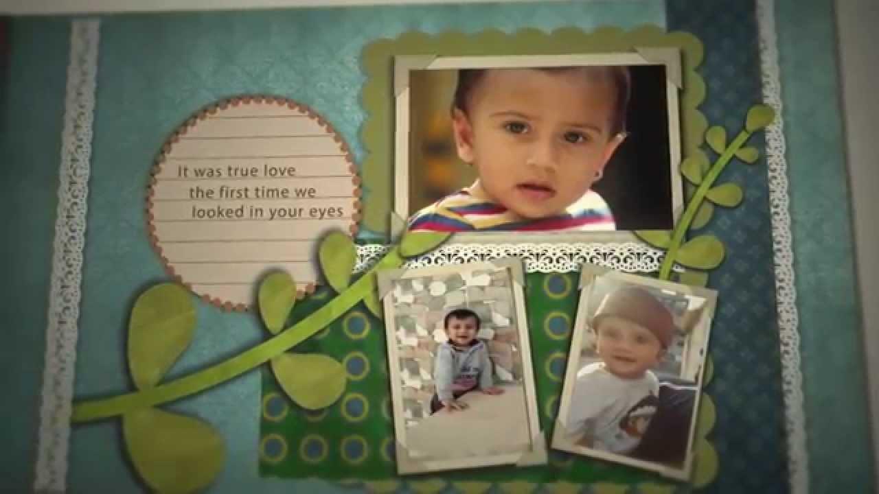 Baby Boy Scrapbook and Memory Book (60 Seconds)