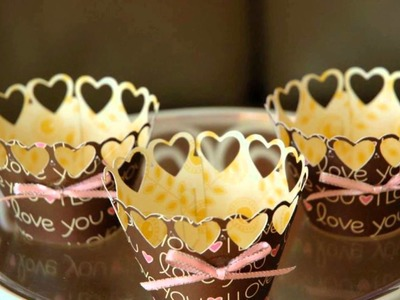 Cupcake Ideas: Cupcake Wrappers by Elisa