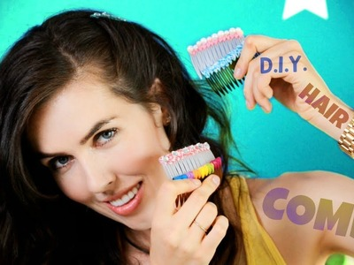 ♥ D.I.Y. ♥ Hair Combs!