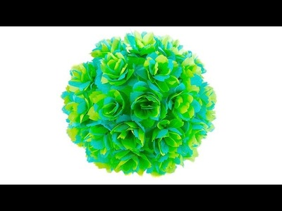 Decorative Paper Flower Ball for Party Decoration