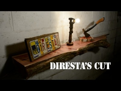 DiResta's Cut: Live Edge Shelf