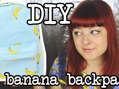 DIY Banana Backpack | Make Thrift Buy #9
