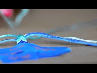 DIY Chevron Friendship Bracelet  Design 2015