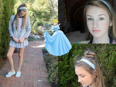 DIY Cinderella Halloween Costume (Hair, Makeup, & Outfit)