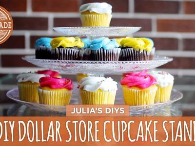 DIY Cupcake Stand - Dollar Store Challenge - HGTV Handmade