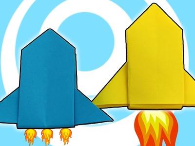 DIY: Easy Paper Origami Rocket Ship Tutorial