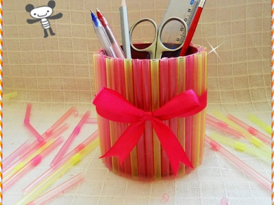 DIY : easy pencil holder