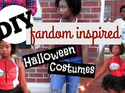 DIY Fandom Inspired Halloween Costumes   Trinity Faith