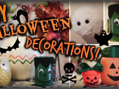 DIY Halloween Decorations!! CHEAP & EASY