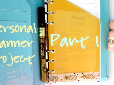 DIY Ideas for Personal Planners - Part 1