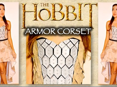 DIY The Hobbit Inspired Corset. Costume- {The Lord of the Rings}