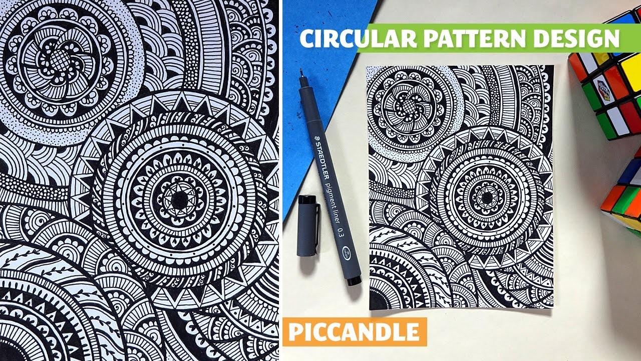 Doodle - Circular Pattern Design [Mandala]