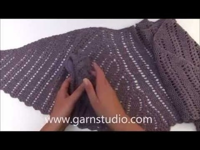 DROPS Crochet Tutorial - How to work charts A.1, A.2 and A.3 in DROPS 166-44
