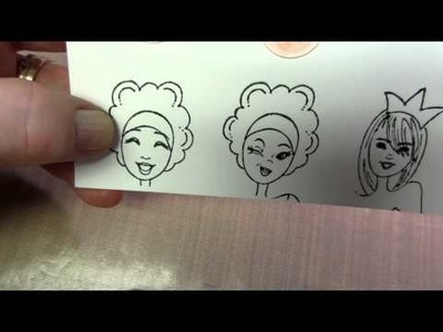 Face Stamps for your Prima Dolls