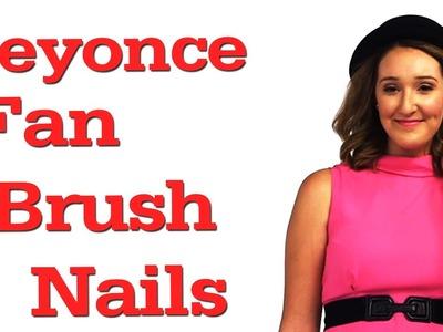 Fan Brush Nail Art Tutorial + OOTD! #17daily