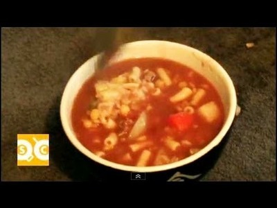 HOMEMADE BEEF & VEGETABLE SOUP RECIPE