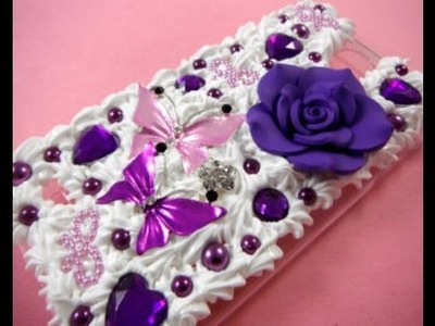 How to custom DIY phone cases for Beginners ♡