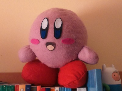 How to make a Kirby Plush Tutorial