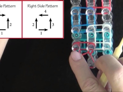How to make a Rainbow Loom Zig Zag Bracelet