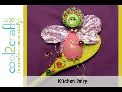 How to Make a Soda Can and Plastic Spoon Kitchen Fairy by Candace Jedrowicz