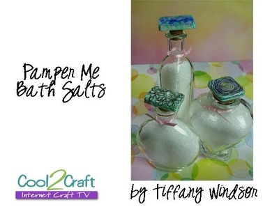 How to Make Decorative Bottle Stoppers with Wax Resist by Tiffany Windsor