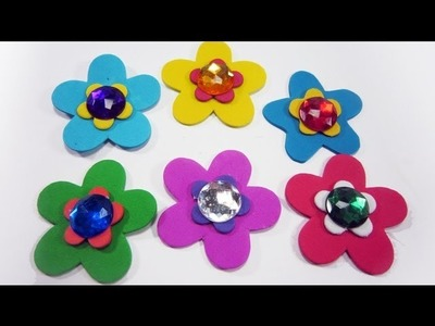 How to make layered foami flowers - EP