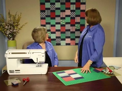 """How to Make Quilting Quickly's """"Jungle Gym:""""  A Fun, Fast Baby Quilt From 5"""" Squares"""
