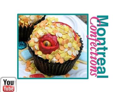 How to make Smaug dragon cupcakes - Smaug's treasure cupcakes