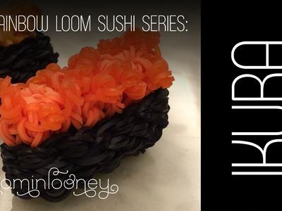 IKURA (Fish Roe) Sushi: 3D Rainbow Loom Sushi Series