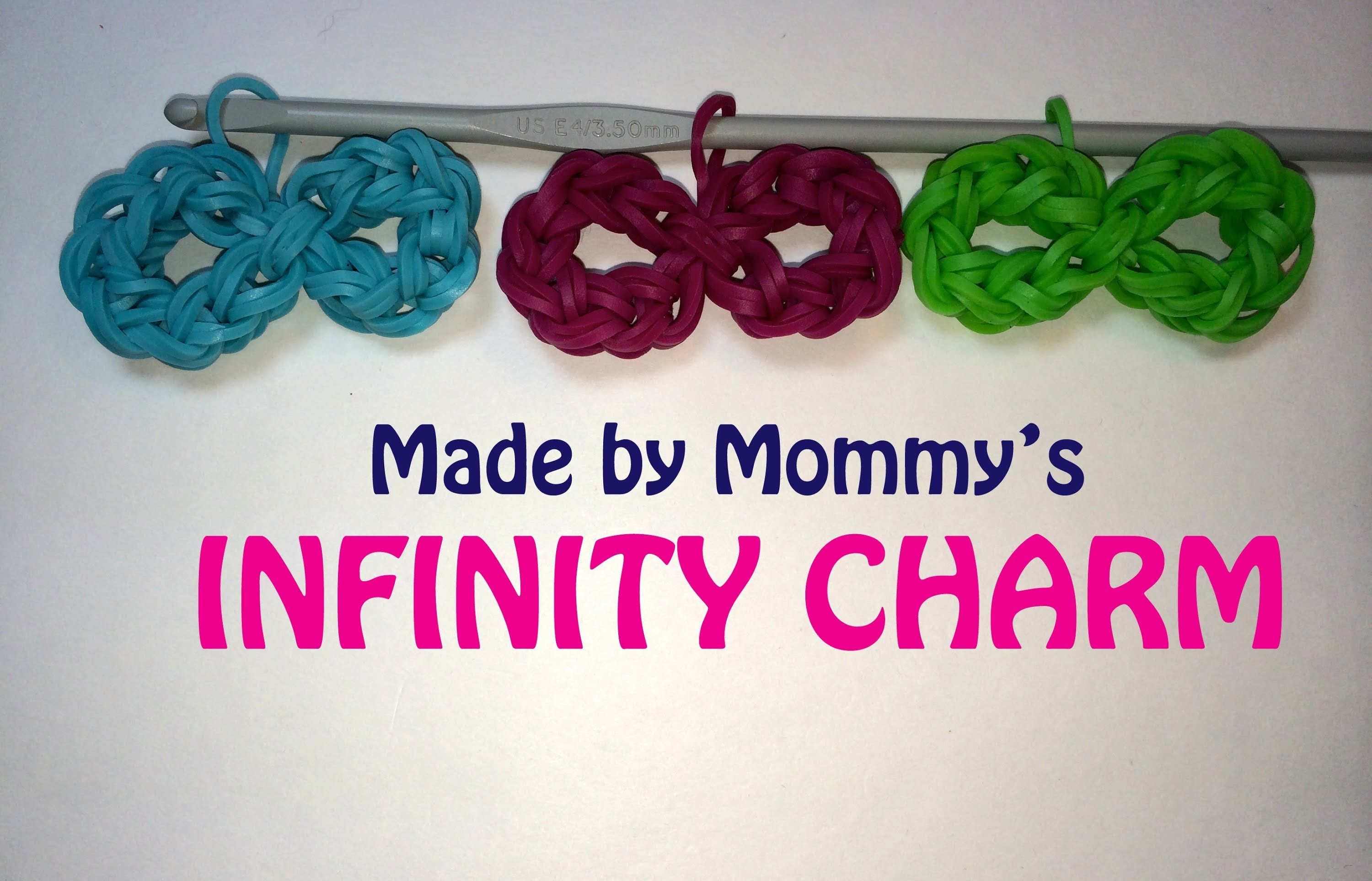 Infinity Symbol Charm Without the Rainbow Loom