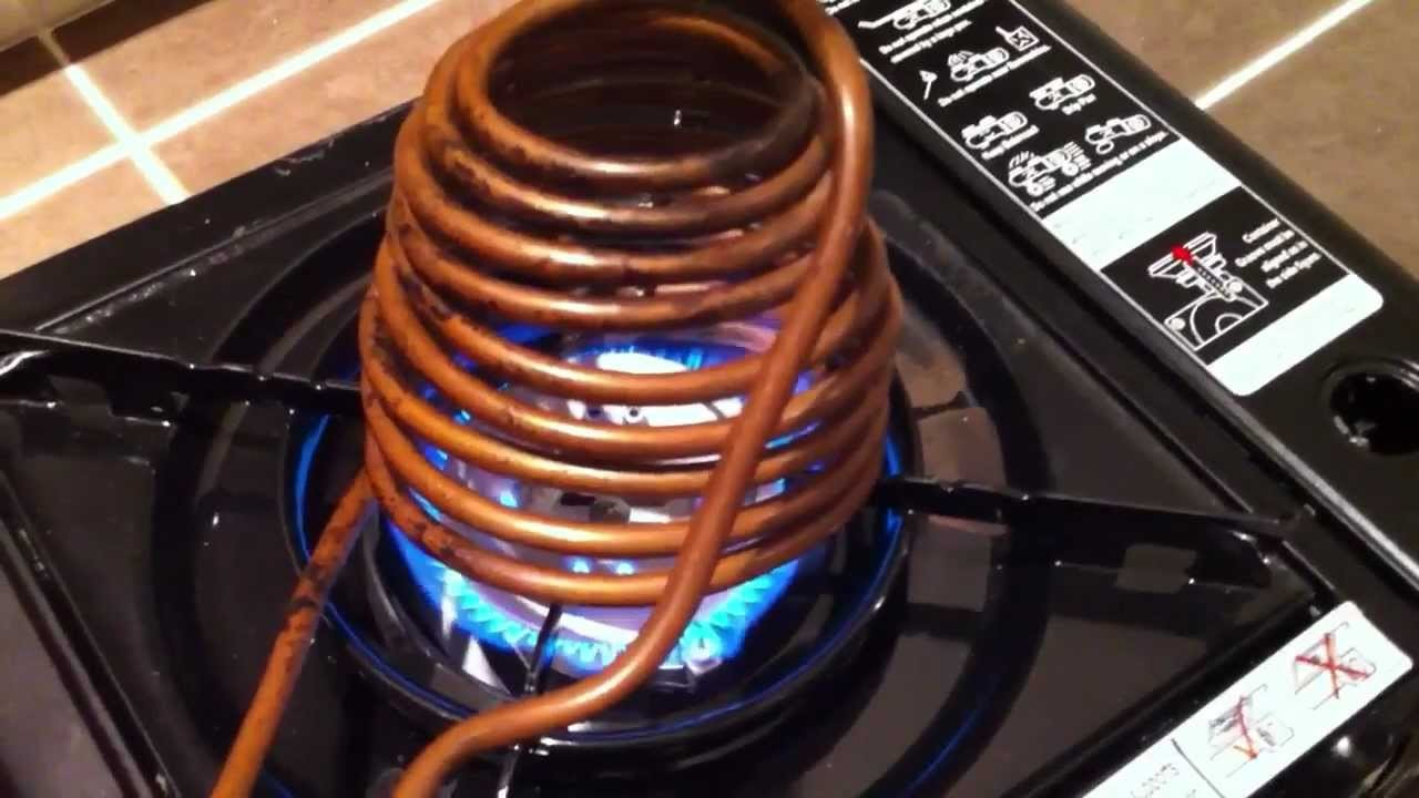 Instant Warm Water System for Camping.