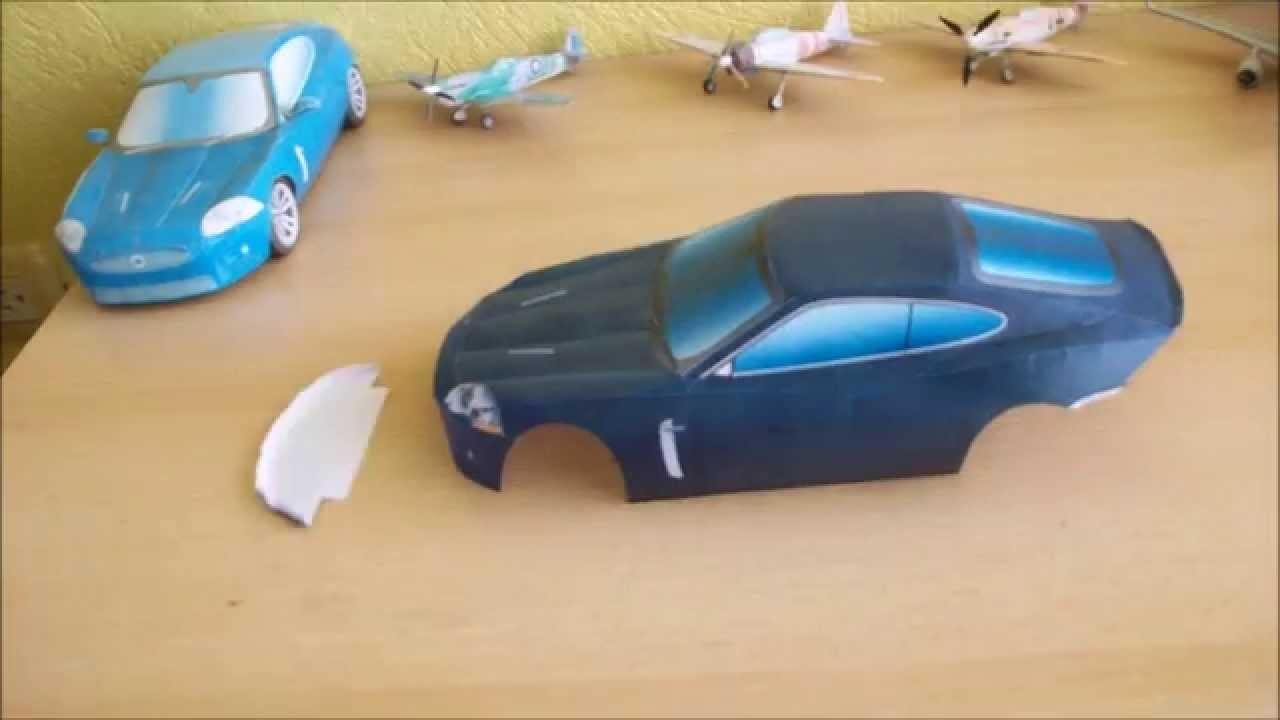 Jaguar XKR Papercraft (Remake)