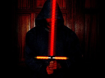 Kylo Ren's Lightsaber - DIY - super easy - HD