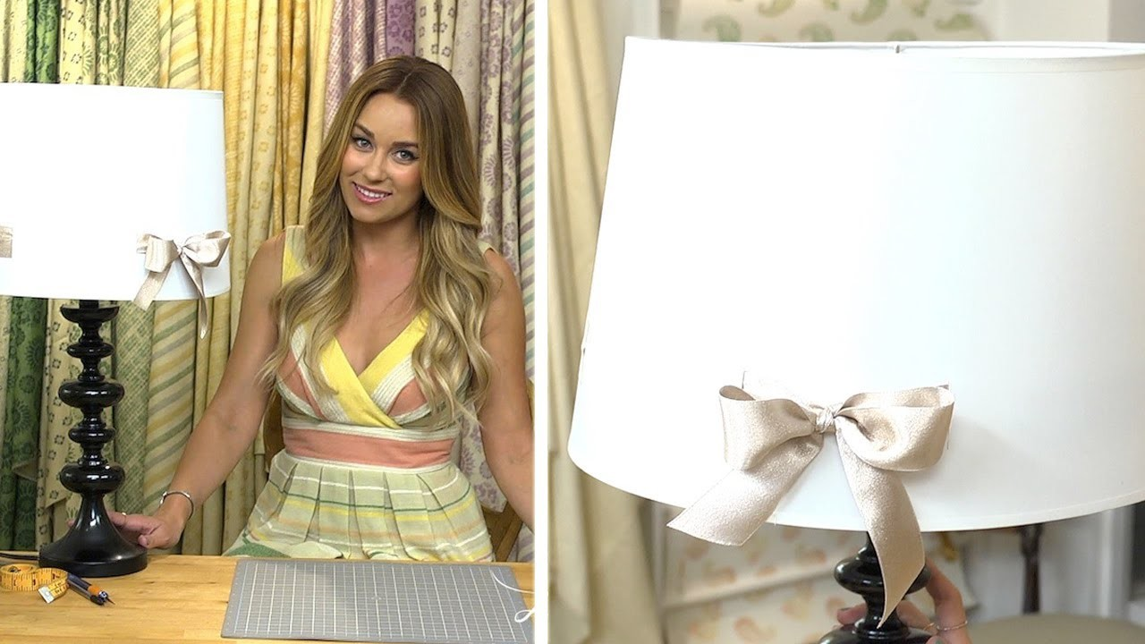 Lauren Conrad: Bow Lamp