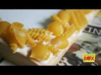 Macaroni Picture Frame - AdventureBox books