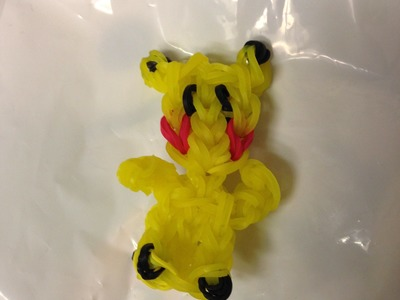 Make Pikachu on the Rainbow Loom  Learning with J J