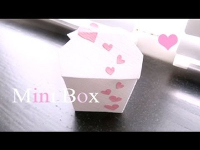 Mini Boxes,  Pop Up Card Box . ♡ ☆