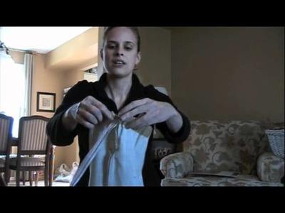 Modcloth DIY Boss: Yoga Mat Cover