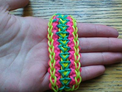 NEW Rainbow Loom Rising Star Bracelet