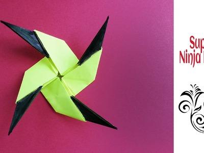 "Origami Paper  ""Star Knife  - Super Ninja Blade(13) !!"