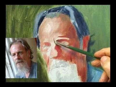Painting an Oil Portrait Part 1